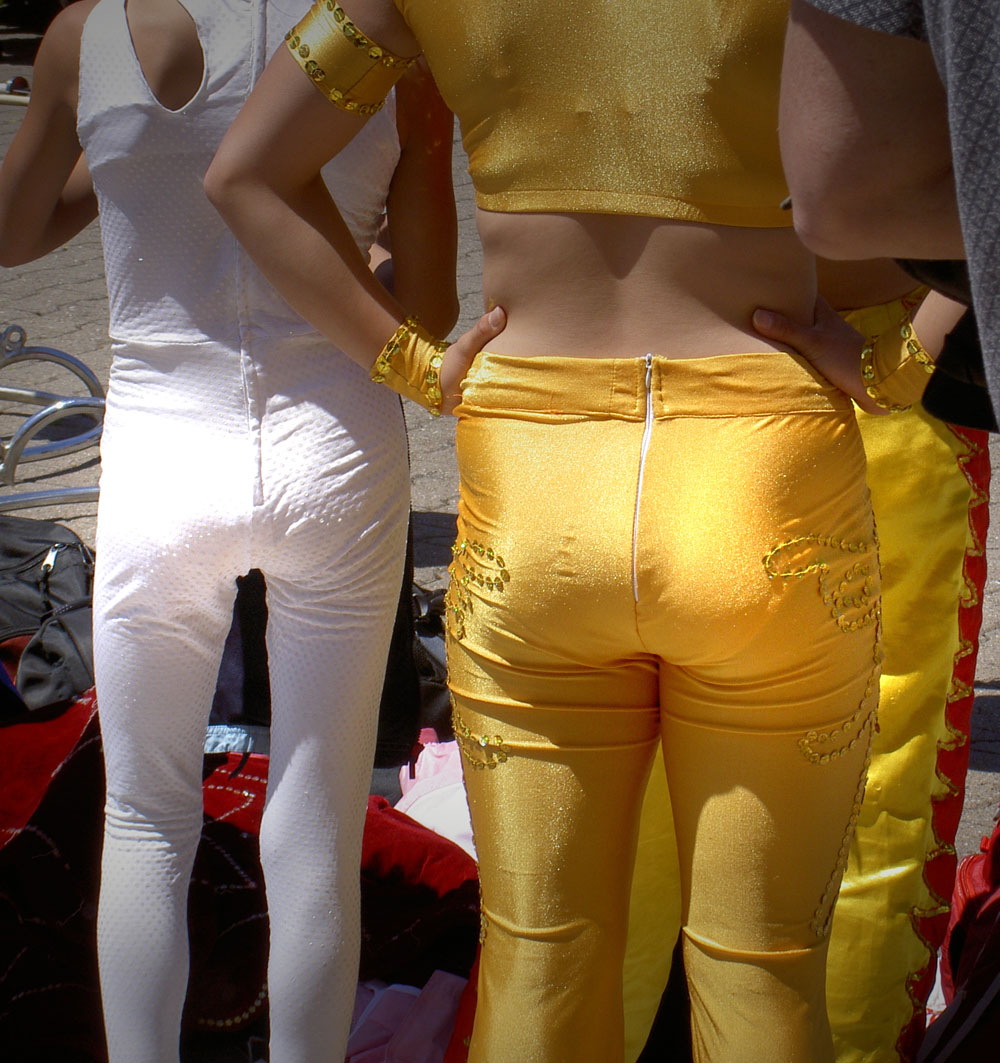 White butt